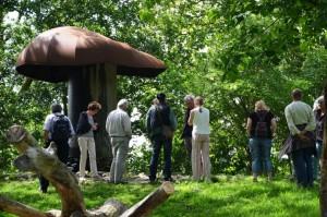 150613 Kerngroep in Middelburg, Lynn paddestoel